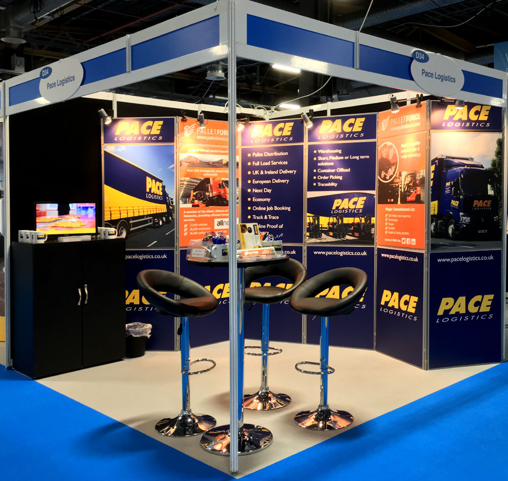 Pace Logistics Exhibition Stand