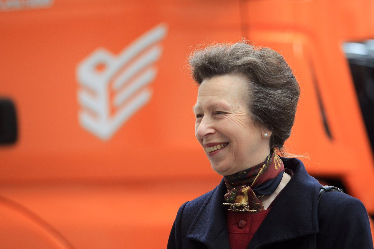 HRH The Princess Royal - SuperHub Opening